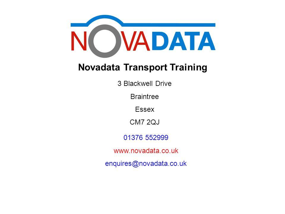 www.novadata.co.uk Changing Local Time on a VDO Digital Tachograph Novadata Transport Training 3 Blackwell Drive Braintree Essex CM7 2QJ 01376 552999 www.novadata.co.uk enquires@novadata.co.uk