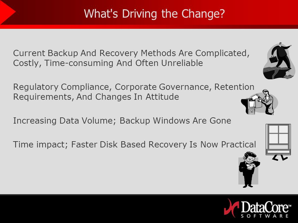 Traveller CPR - Travel in Time : Do More with Time Time Optimized Workflows, Recovery, Backups and Data Protection Revolutionizes CDP, Snapshots, Backups, Disaster Recovery, Business Continuity… Flexible: Travel in Time and Restore Applications and Systems to any previous Good state.