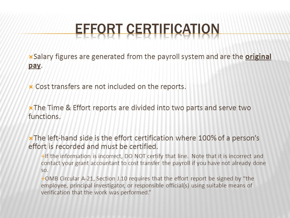 NUMBER 5 In the case of an incomplete report, forgetting to sign the new certification page.