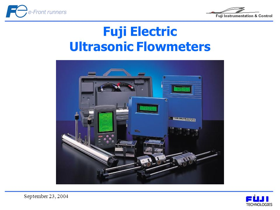 September 23, 20042 Introduction Ultrasonic waves travel in the same manner as light or microwaves, however being elastic waves, they can propagate through any substance whether solid, liquid & gases.