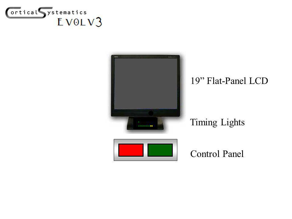 19 Flat-Panel LCD Timing Lights Control Panel
