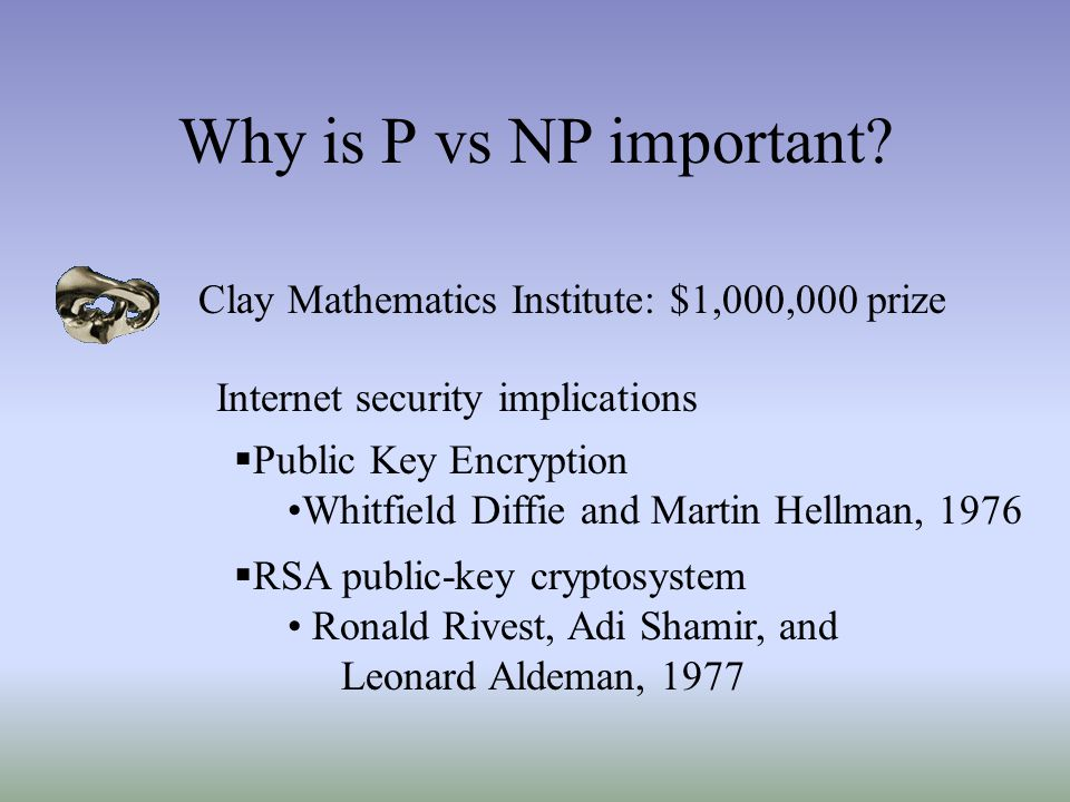 Why is P vs NP important.