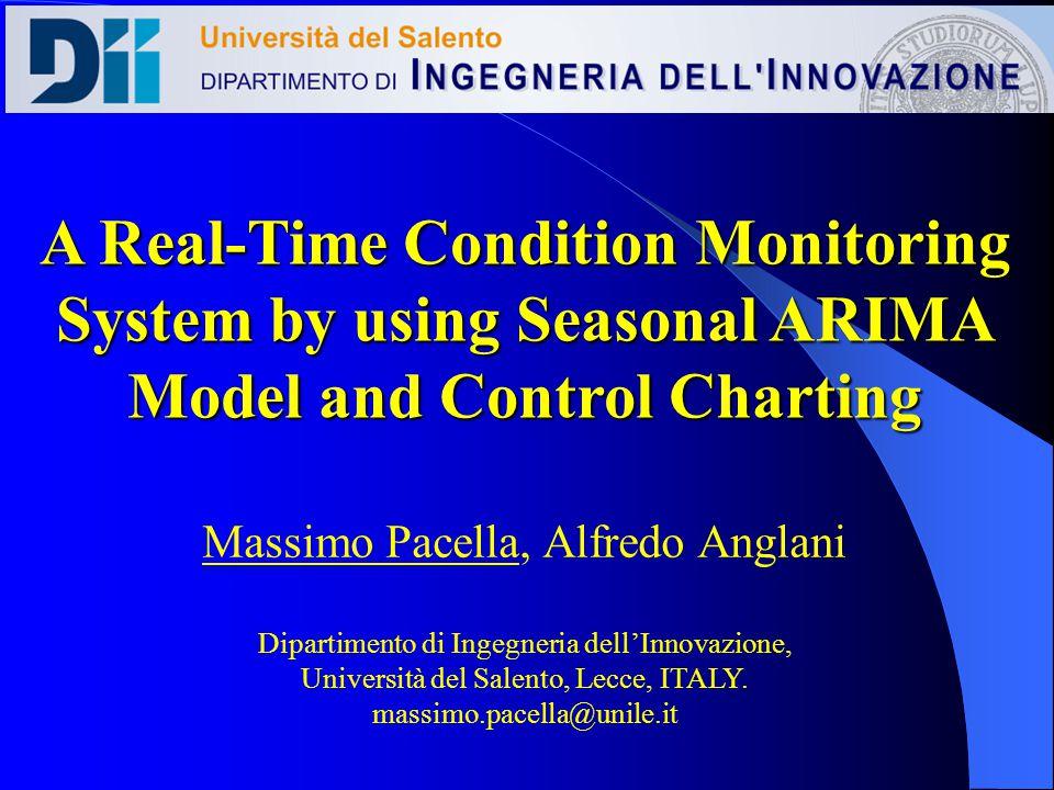Massimo Pacella, Alfredo Anglani Dipartimento di Ingegneria dellInnovazione, Università del Salento, Lecce, ITALY.