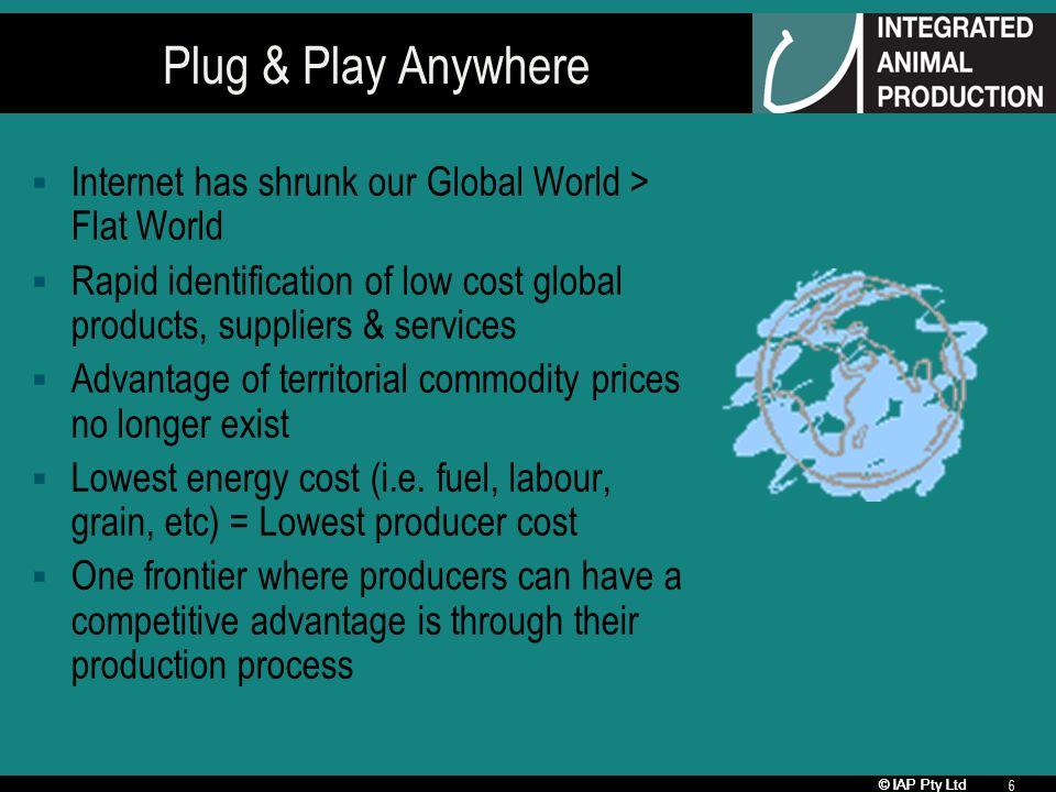 © IAP Pty Ltd 7 Global Meat Processor Presence # 1 # 3 #2