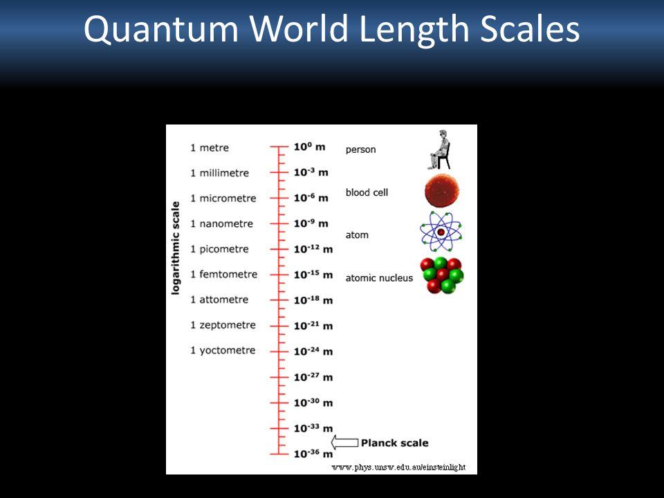 Quantum World Length Scales