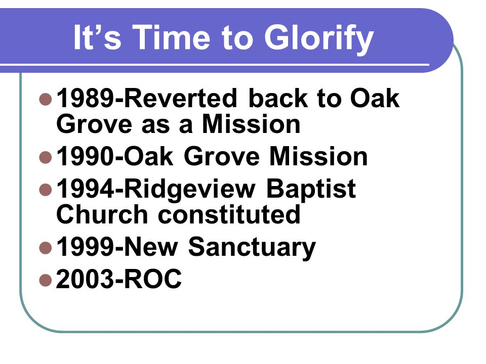 Its Time to Grow Return to the Bible Commit to read the Bible through in the next year by reading it each day