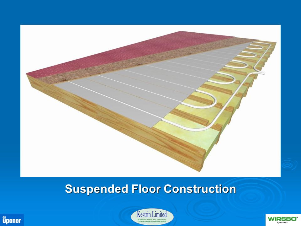 Suspended Floor Construction