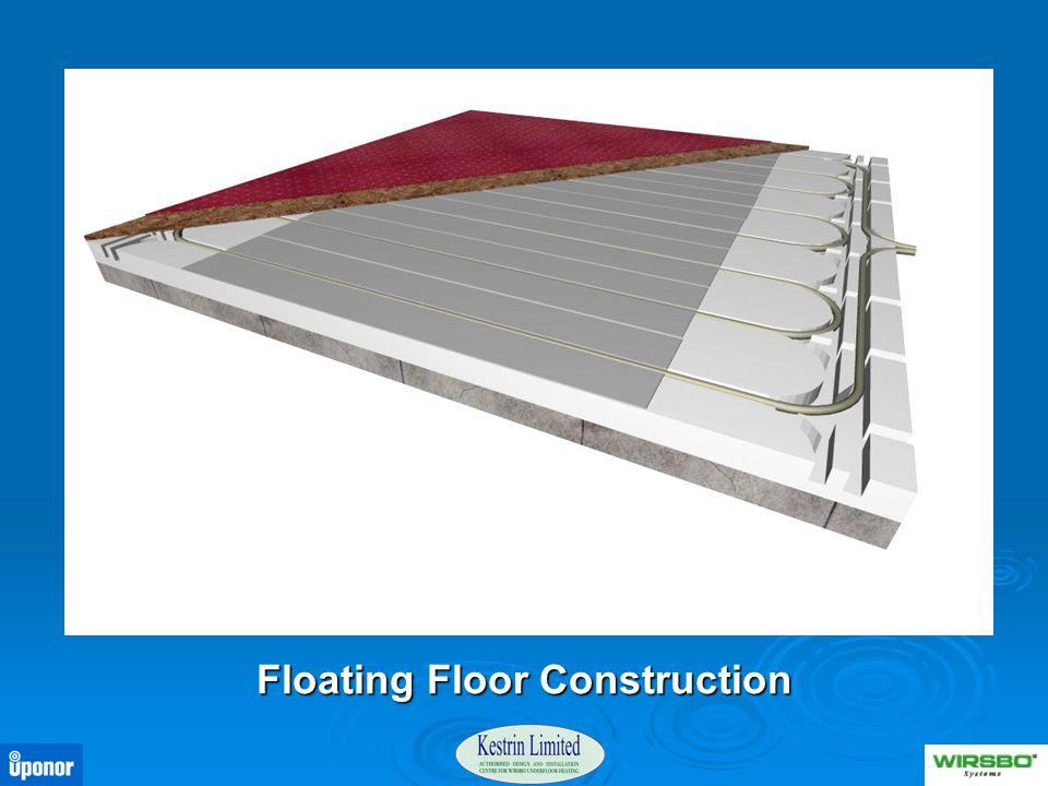 Floating Floor Construction