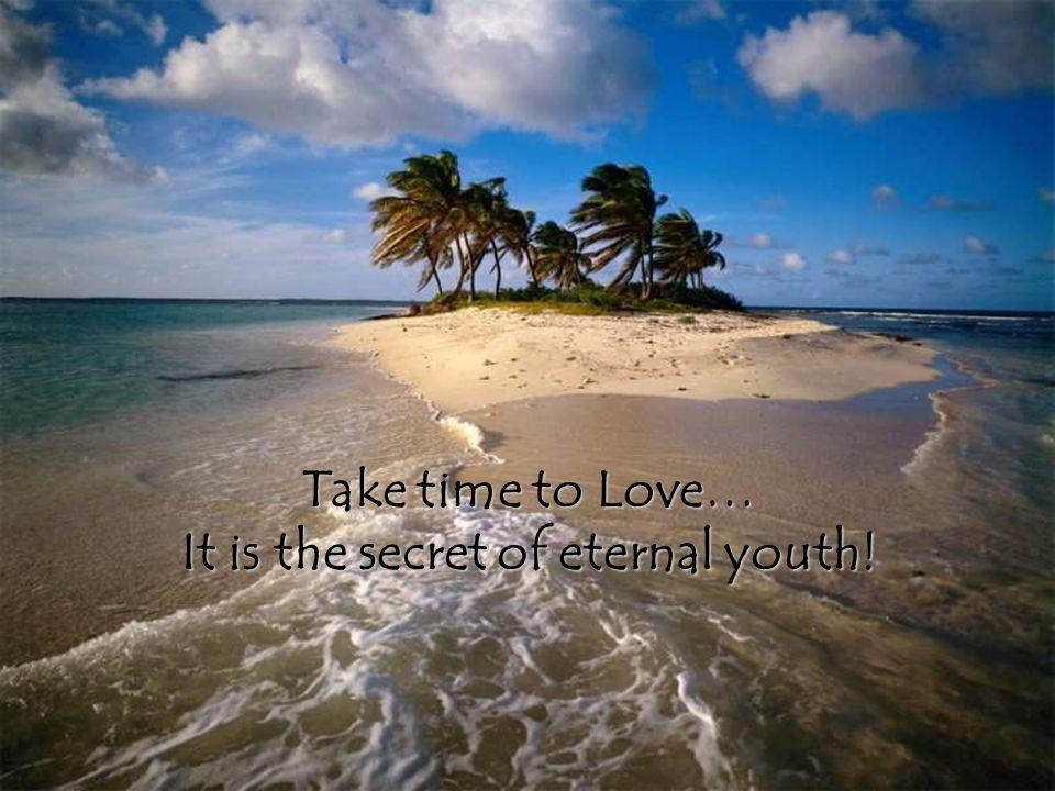 Take the Time Take the Time…..