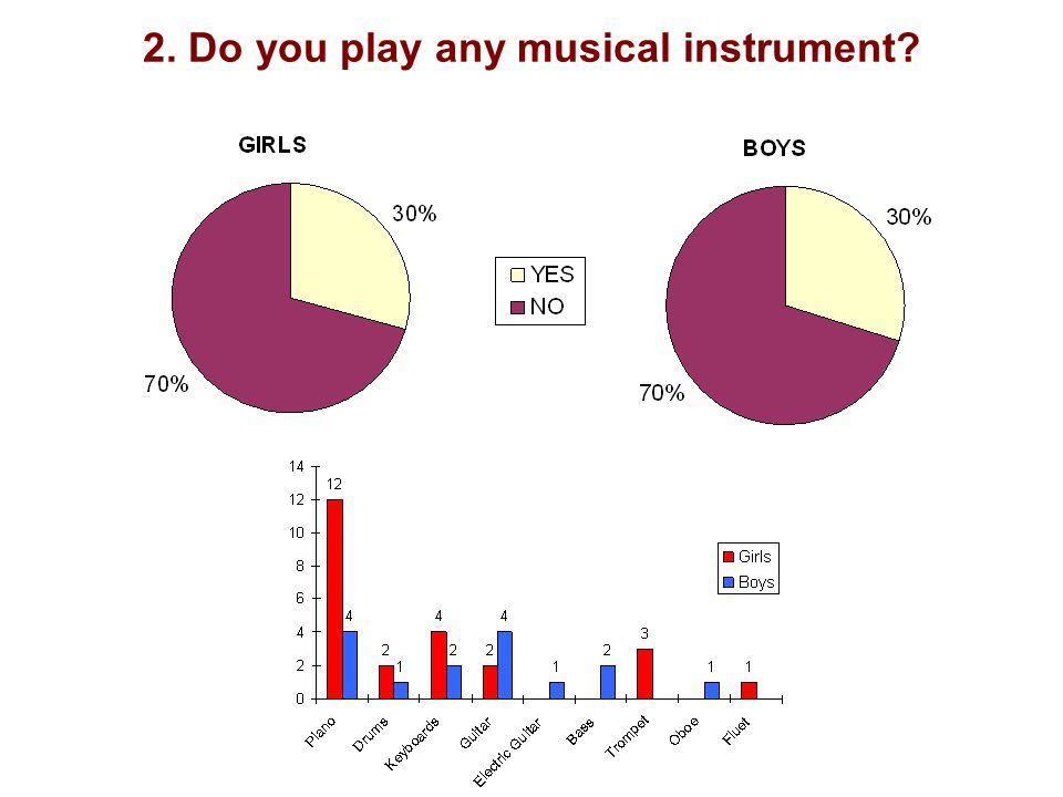 2. Do you play any musical instrument