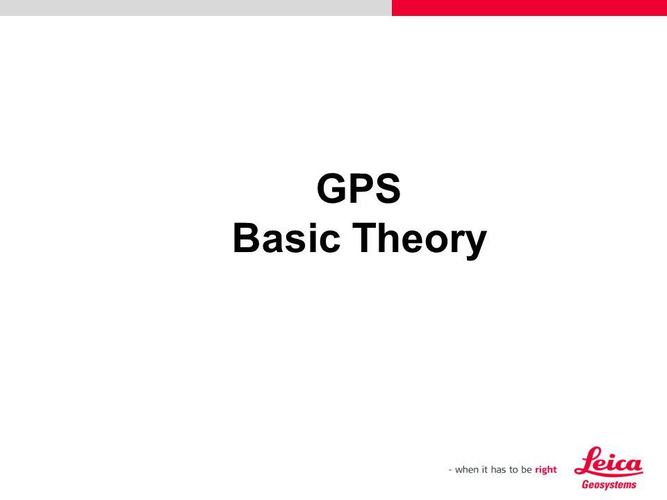 GPS Basic Theory