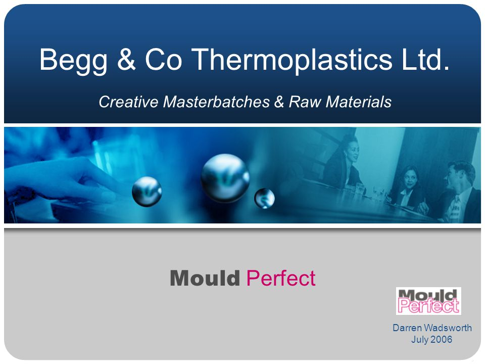 Begg & Co Thermoplastics Ltd.
