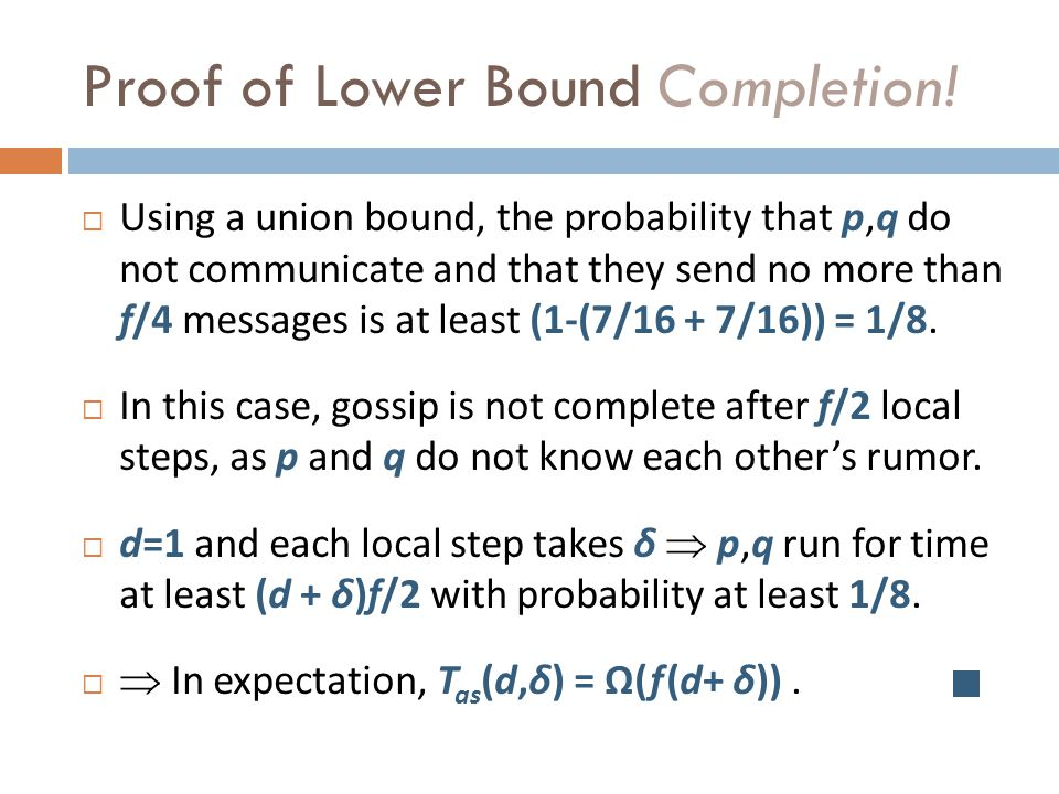 Proof of Lower Bound Completion.