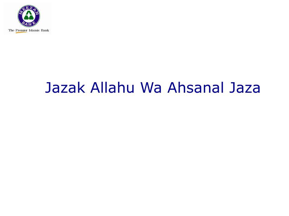 Jazak Allahu Wa Ahsanal Jaza