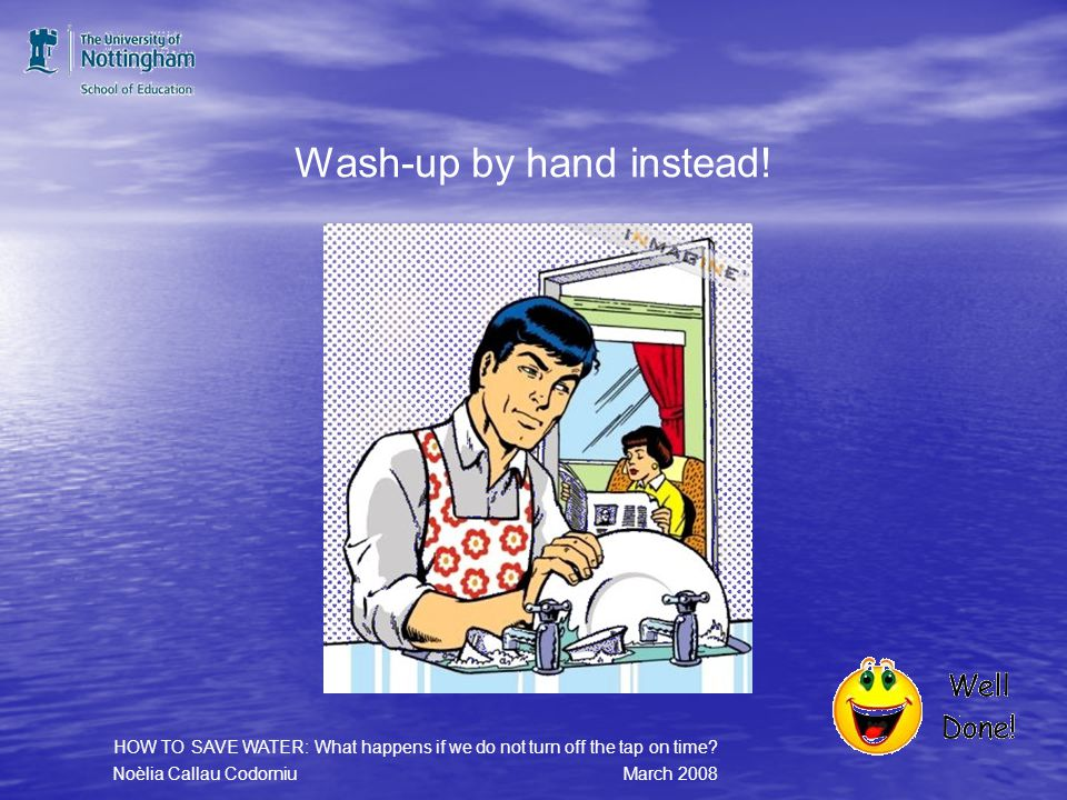 Dont run the dishwasher half load.