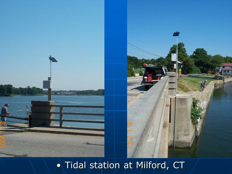 Tidal station at Milford, CTTidal station at Milford, CT