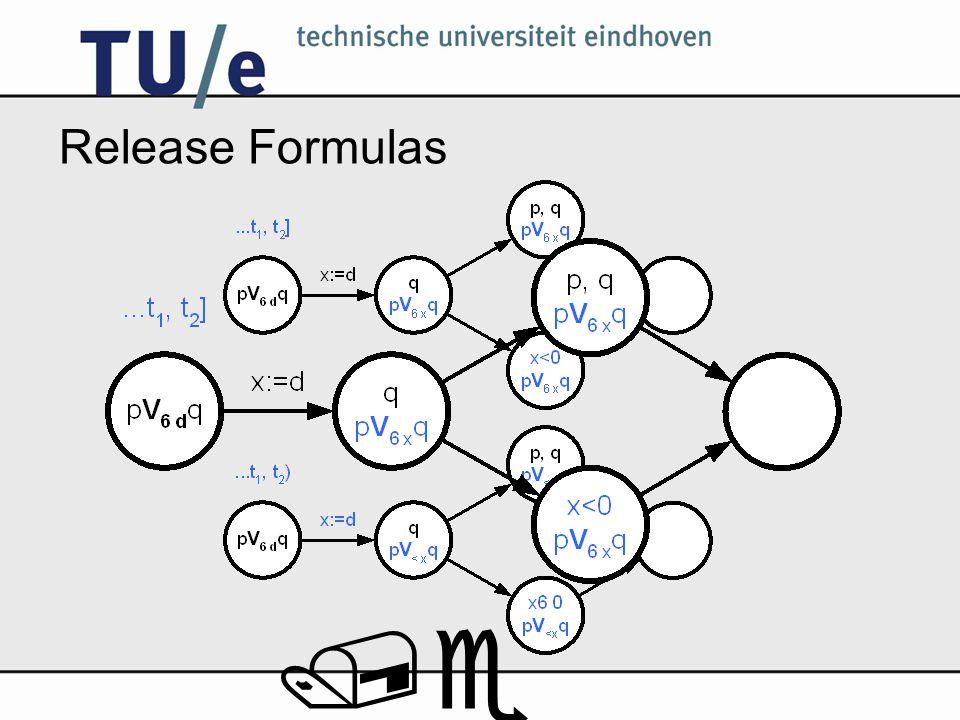 /e Release Formulas