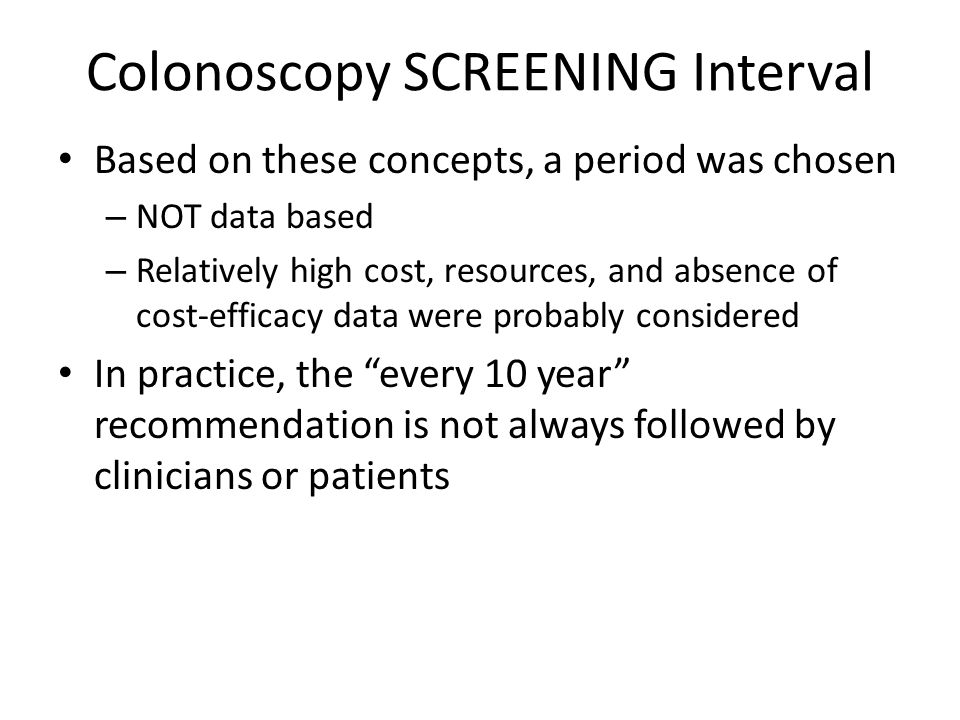 20 Colorectal Screening Just 40% of colorectal cancers are detected at the earliest stage.
