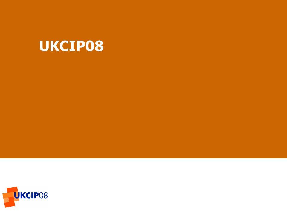 © UKCIP 2006 UKCIP08