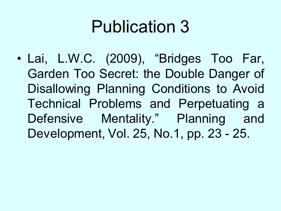 Publication 3 Lai, L.W.C.