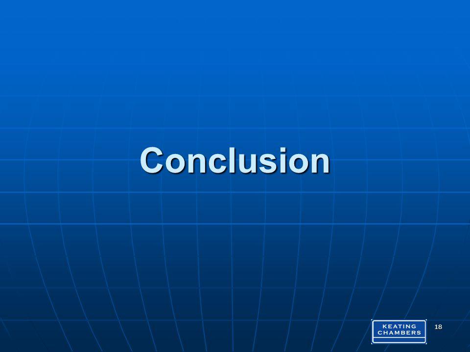 Conclusion 18