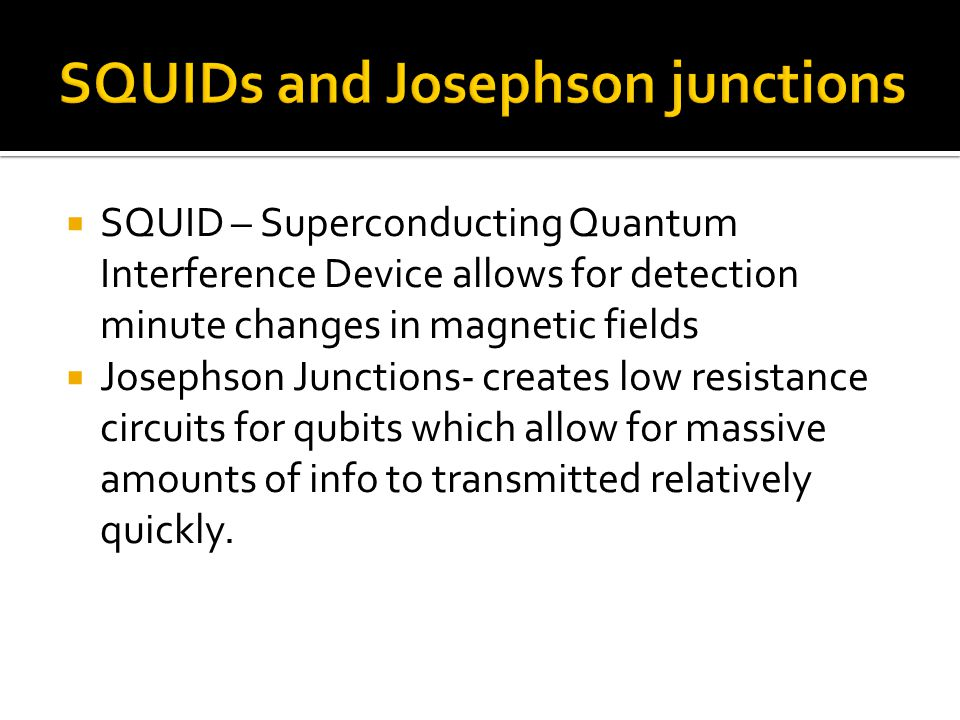 The systems still lack large scale qubit systems.Quantum Memory Storage has yet to be touched.