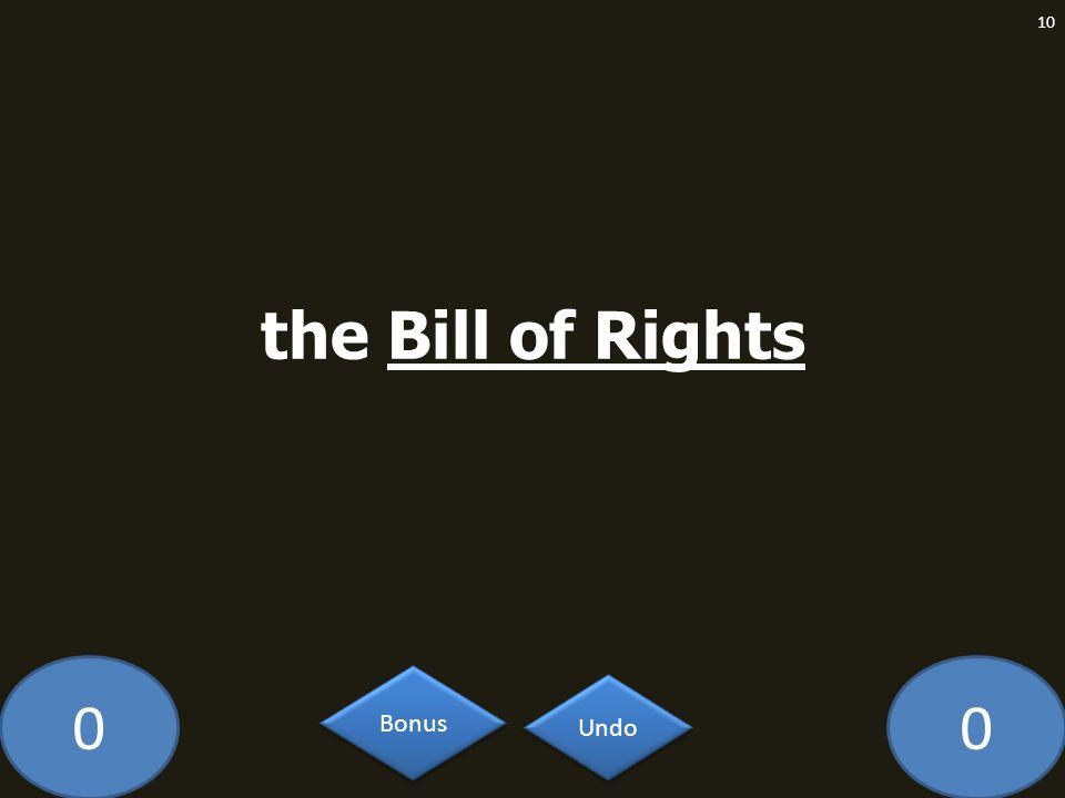00 10 Undo Bonus the Bill of Rights
