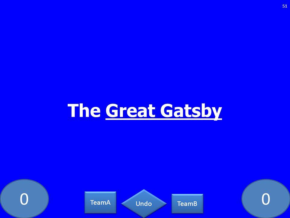 00 The Great Gatsby 51 TeamA TeamB Undo