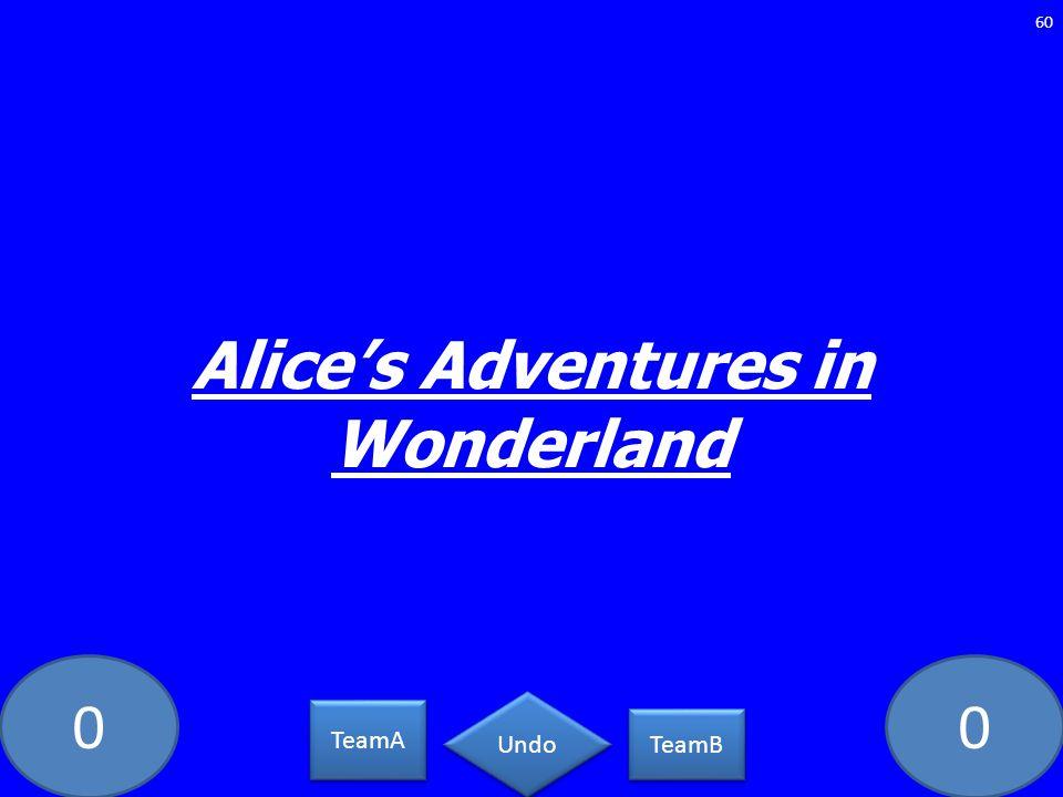 00 Alices Adventures in Wonderland 60 TeamA TeamB Undo