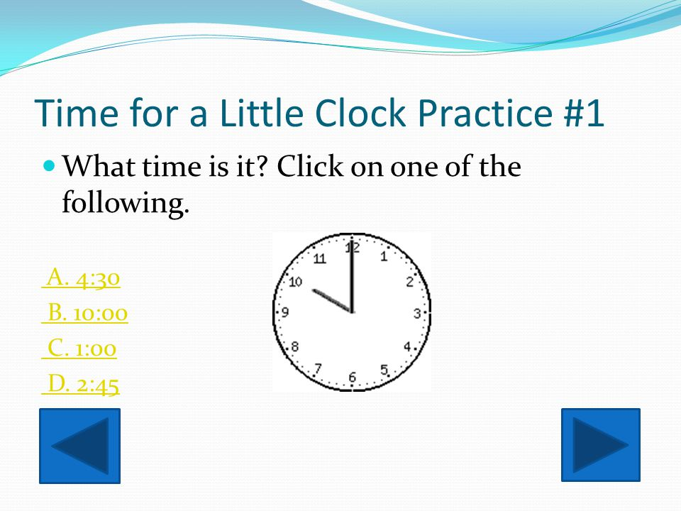 A Fun Sing Along About Clocks Here is a fun little video that you can watch. Click on the TV to watch a video from YouTube but, dont forget to sing al