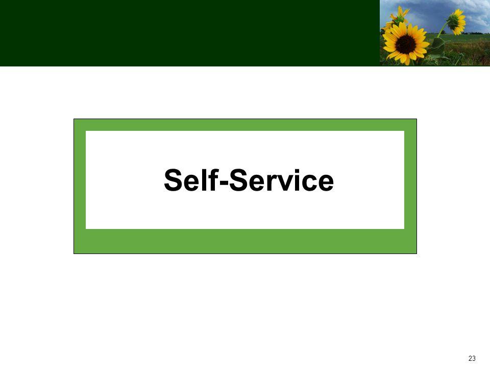 23 Self-Service