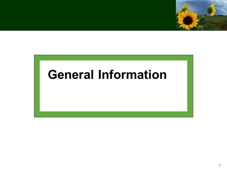 7 General Information