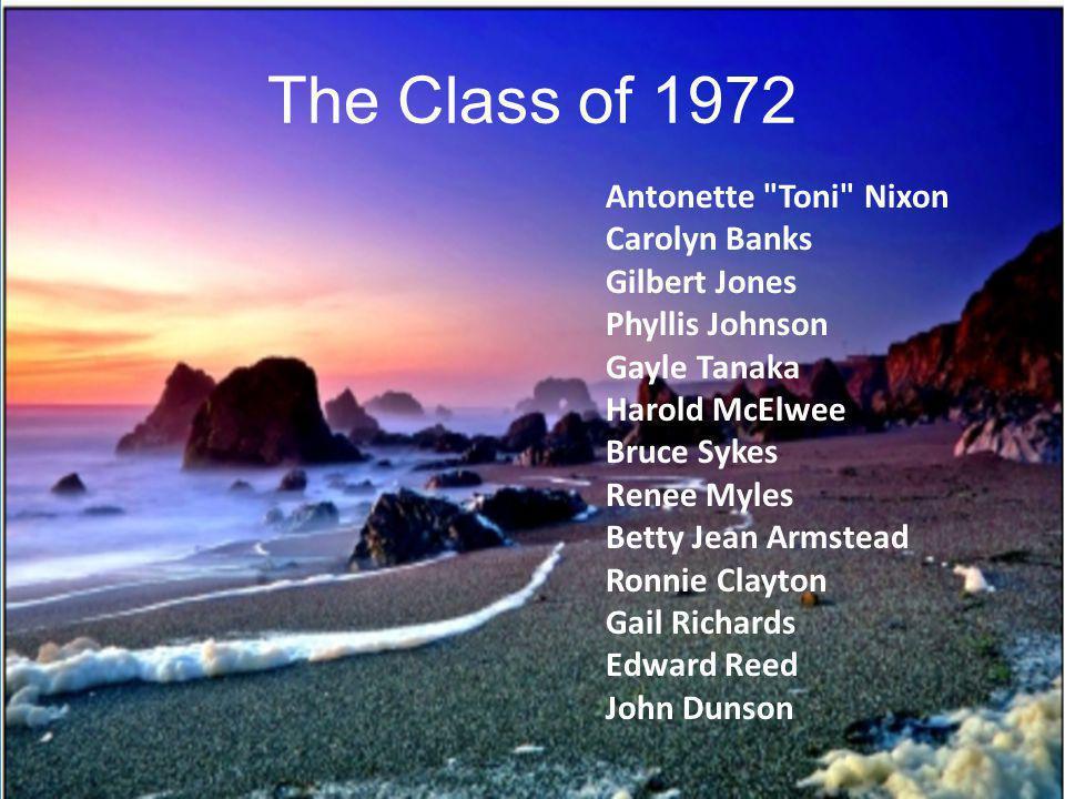 The Class of 1972 Antonette