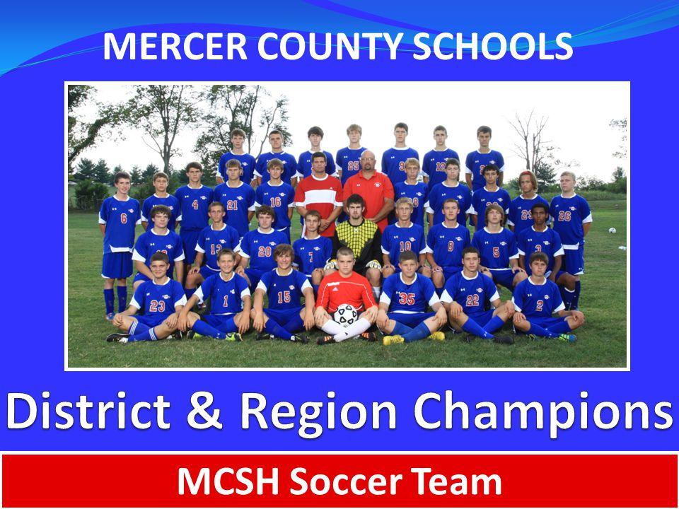 MERCER COUNTY SCHOOLS MCSH Soccer Team