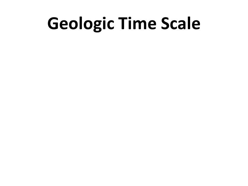Geologic Time Scale Mr. Skirbst Earth Science Topic 25