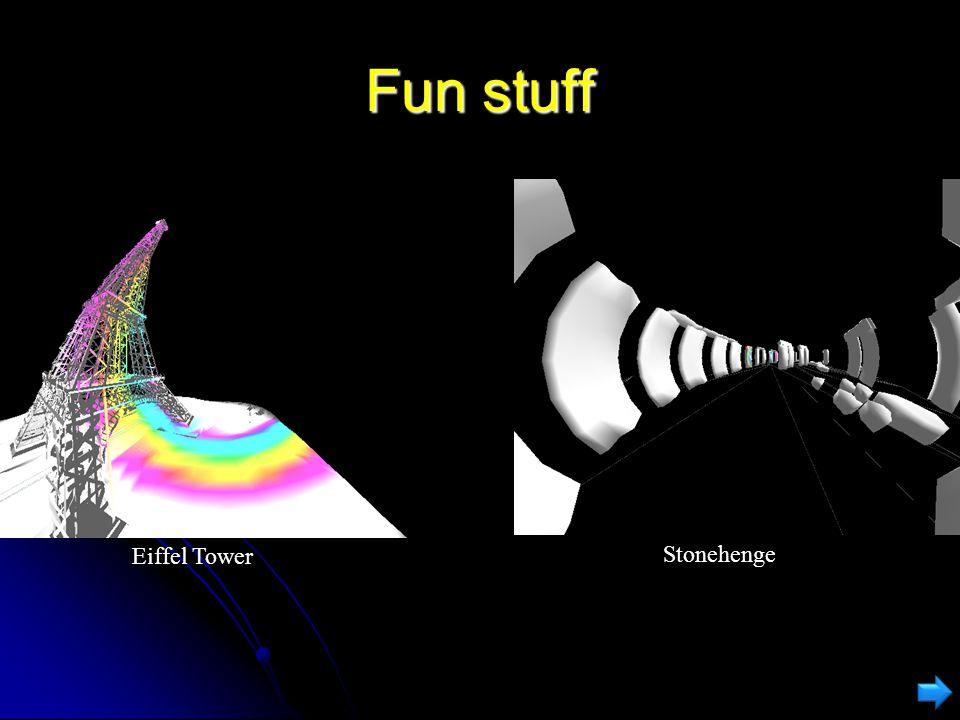 Warp Program used to visualise the three effects Program used to visualise the three effects