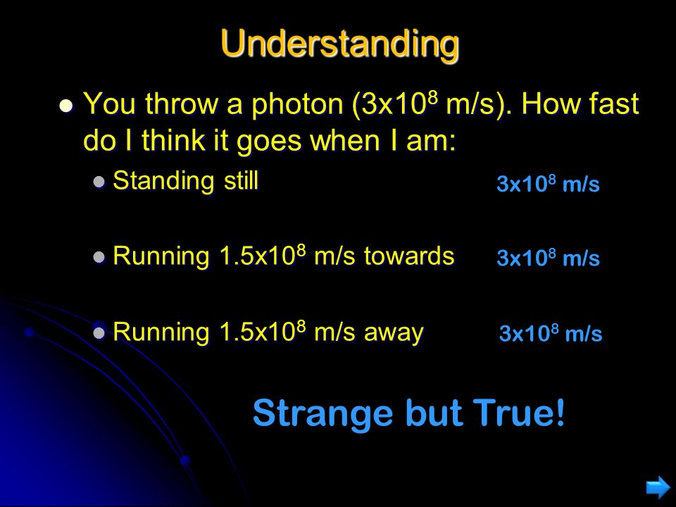 Understanding Vega is 25 light-years away Vega is 25 light-years away Travel to Vega at 0.999c Travel to Vega at 0.999c The length would appear contra