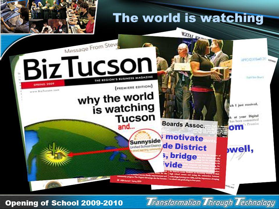 Opening of School 2009-2010 The New Generation NxT LeVeL Dance Group Desert View High School Glenna Hood and James Merino Sponsors, Jobs for Arizonas