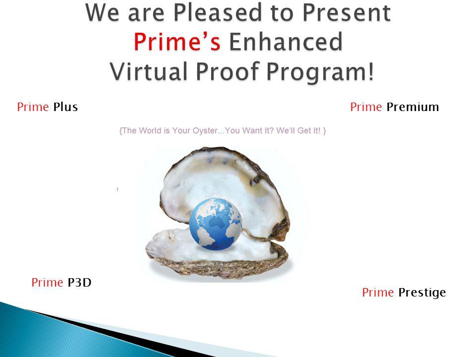 Prime PlusPrime Premium Prime Prestige Prime P3D