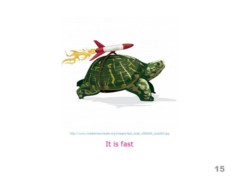 15 It is fast http://www.masternewmedia.org/images/fast_snail_id86636_size350.jpg