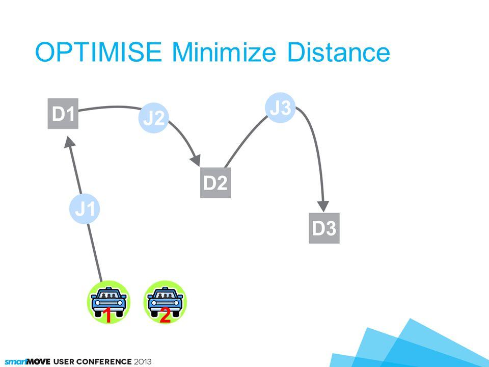 OPTIMISE Minimize Distance