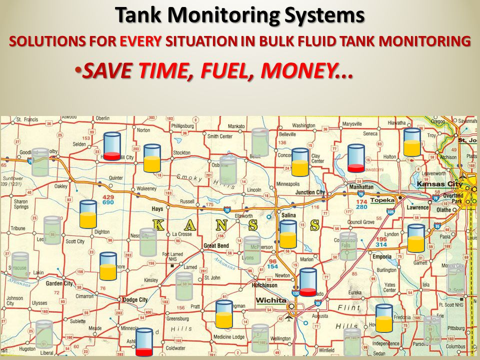 SOLUTIONS FOR EVERY SITUATION IN BULK FLUID TANK MONITORING Tank Monitoring Systems KNOW WHAT NEEDS ATTENTION – AND WHAT DOES NOT.