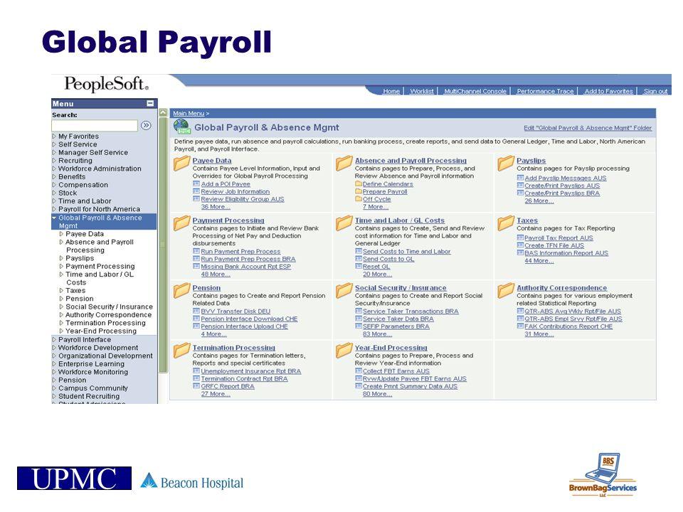 UPMC Global Payroll