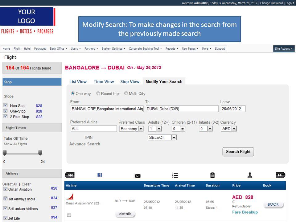 www.itbrahma.com 1 YOUR LOGO Flight Details of Onward and Return Journey