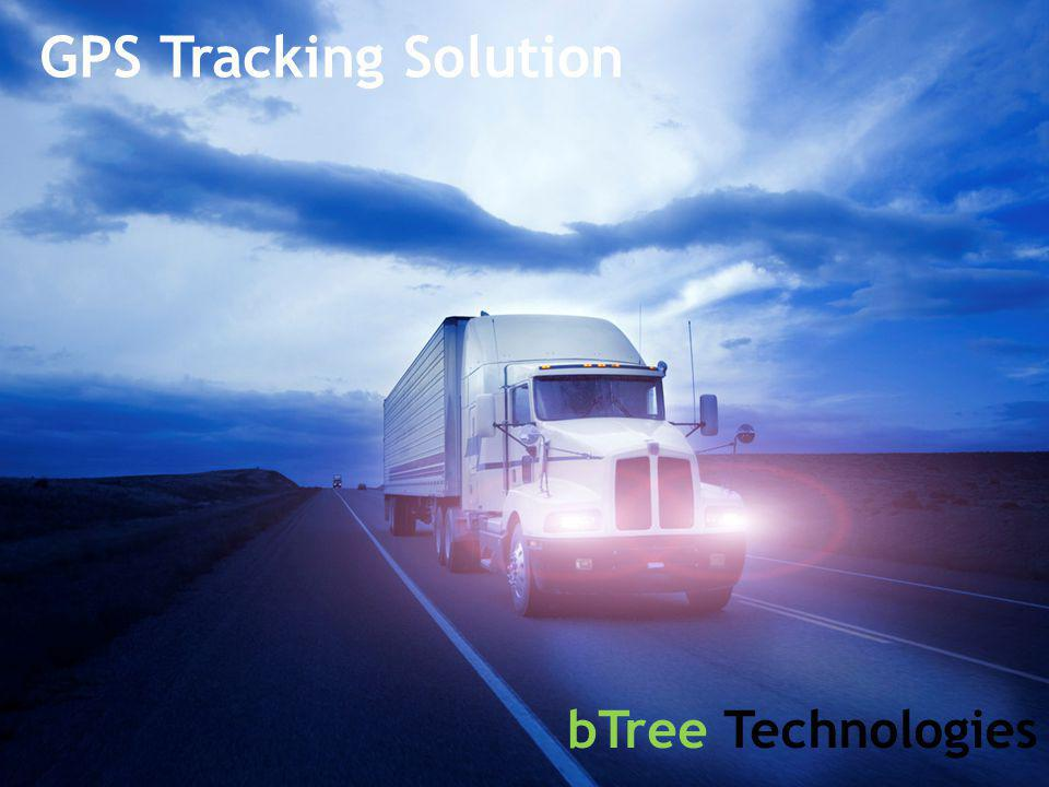 bTree Technologies GPS Tracking Solution