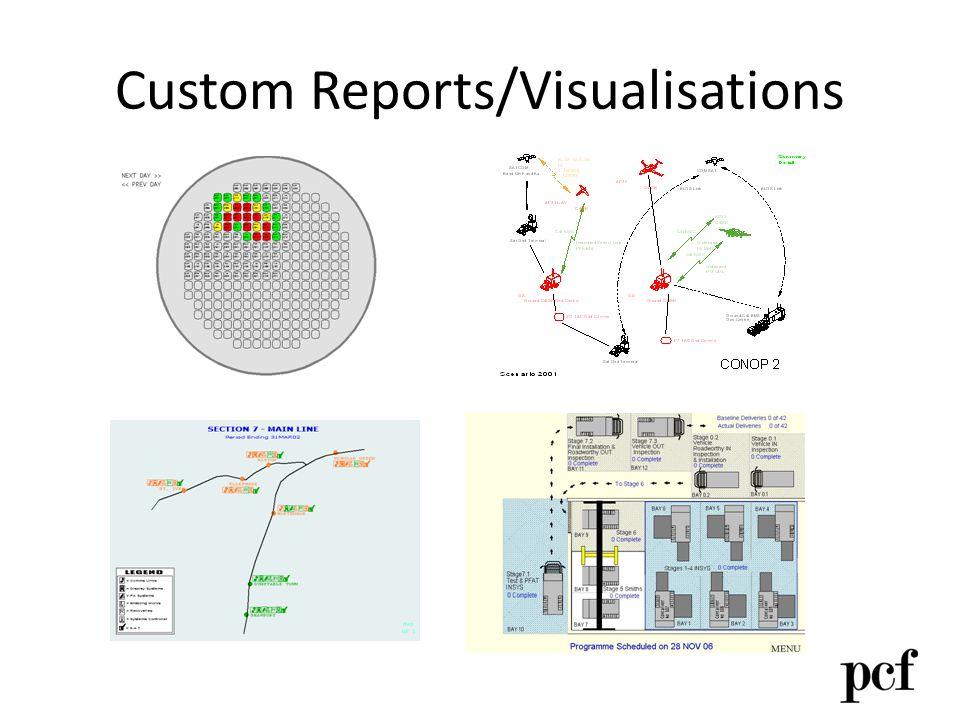 Custom Reports/Visualisations
