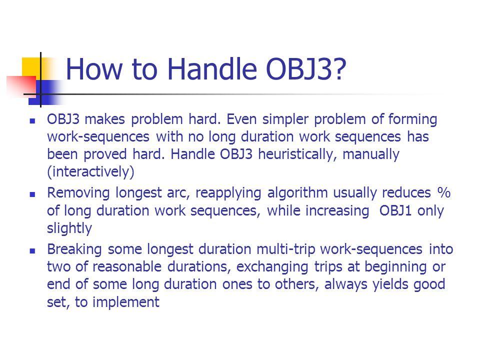 How to Handle OBJ3. OBJ3 makes problem hard.
