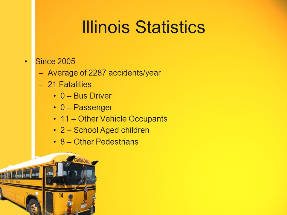 Video Montage Most School Bus crashes are minor in nature, the school bus has an advantage due to the size and weight of the vehicle.