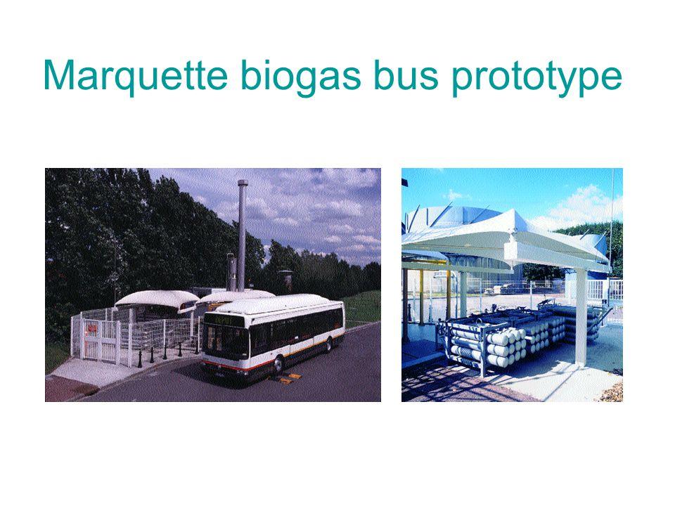 Marquette biogas bus prototype