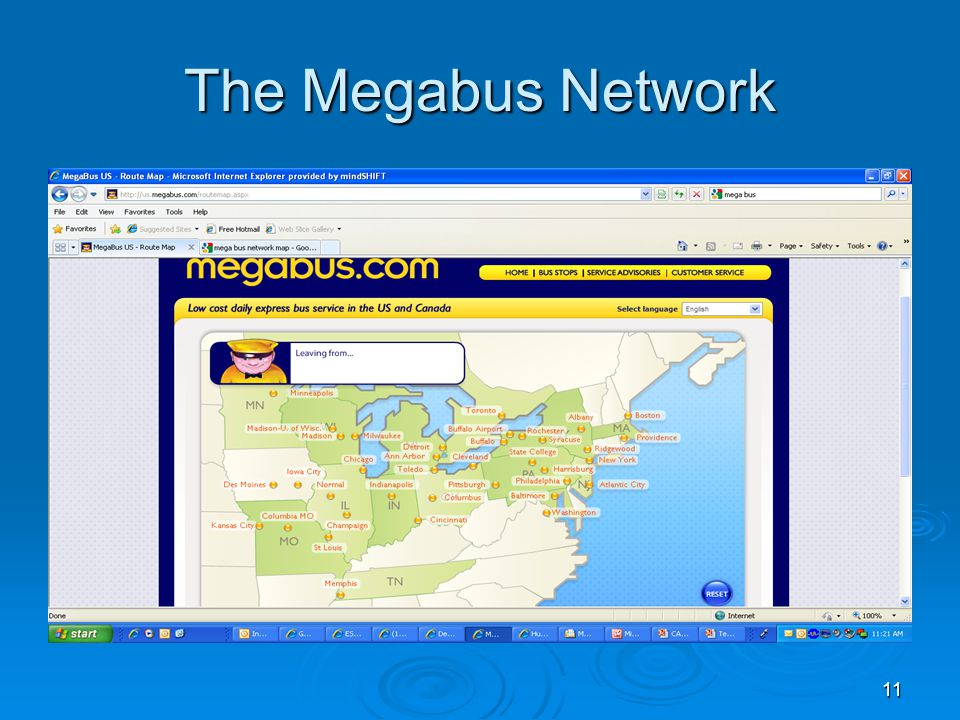 11 The Megabus Network